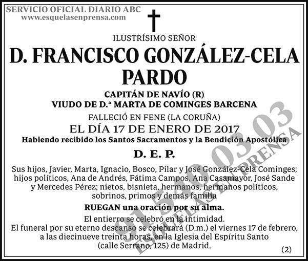 Francisco González-Cela Pardo